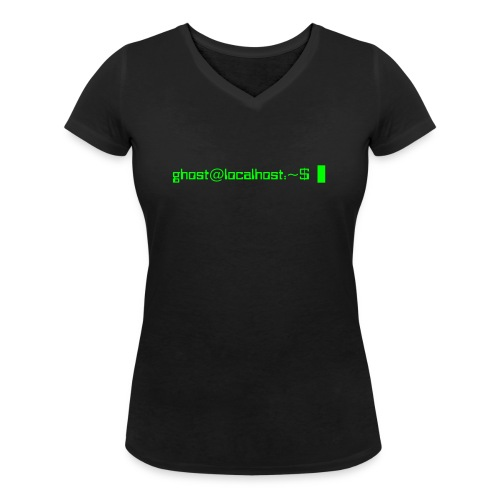 Ghost in the Shell - Women's Organic V-Neck T-Shirt by Stanley & Stella