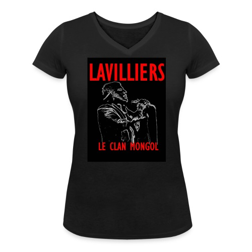 T Sirt LAVILLIERS new 1 jpg - T-shirt bio col V Stanley & Stella Femme