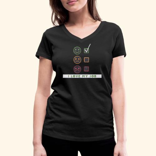 Job Berufung Leben - Frauen Bio-T-Shirt mit V-Ausschnitt von Stanley & Stella