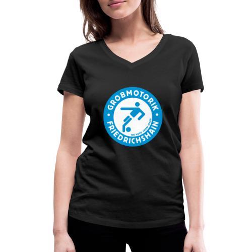 Gromotorik Friedrichshain - Frauen Bio-T-Shirt mit V-Ausschnitt von Stanley & Stella