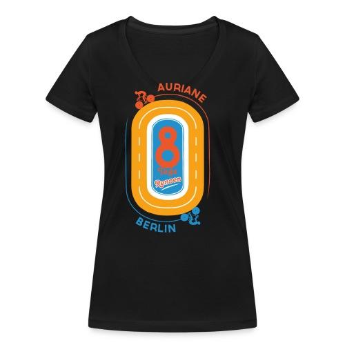 8-Tage-Rennen - Frauen Bio-T-Shirt mit V-Ausschnitt von Stanley & Stella