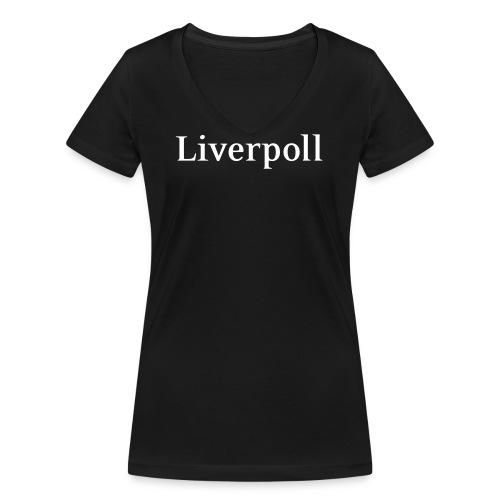 liverpoll - Frauen Bio-T-Shirt mit V-Ausschnitt von Stanley & Stella