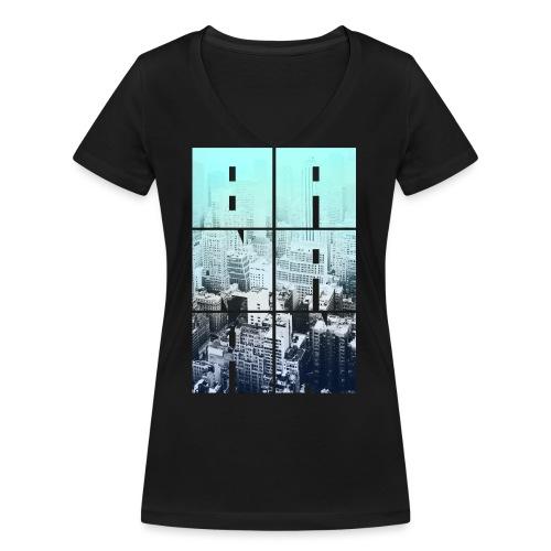 BANAAN 05 - Vrouwen bio T-shirt met V-hals van Stanley & Stella