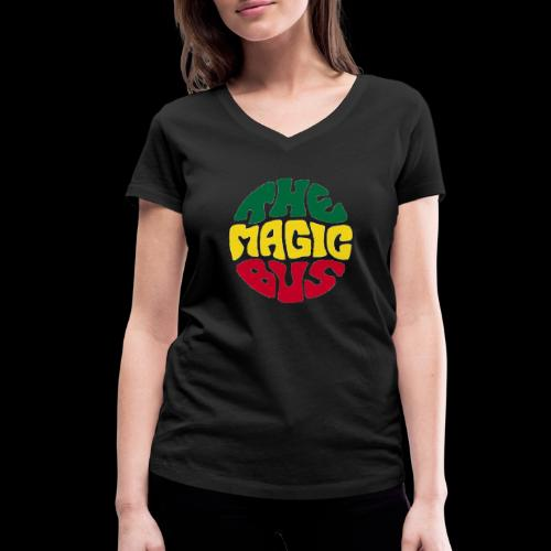 THE MAGIC BUS - Women's Organic V-Neck T-Shirt by Stanley & Stella