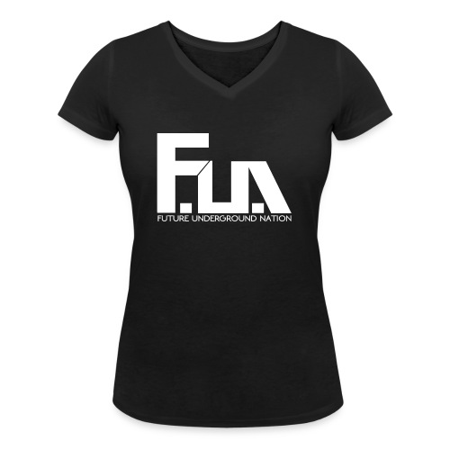 FUN LOGO CLEAR BACKGROUND - Women's Organic V-Neck T-Shirt by Stanley & Stella
