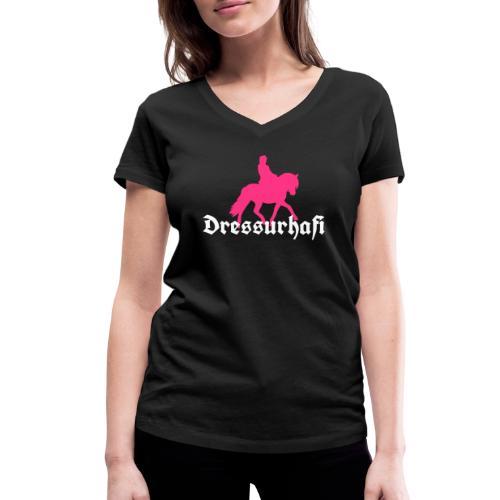 Dressurhafi - Frauen Bio-T-Shirt mit V-Ausschnitt von Stanley & Stella
