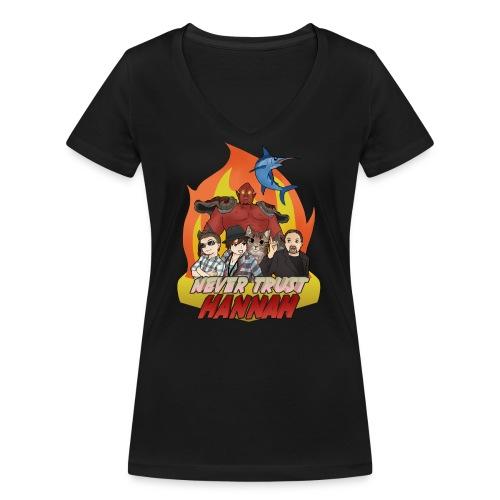 nth shirt png - Women's Organic V-Neck T-Shirt by Stanley & Stella