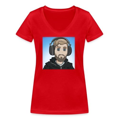 KalzAnimated - Økologisk Stanley & Stella T-shirt med V-udskæring til damer