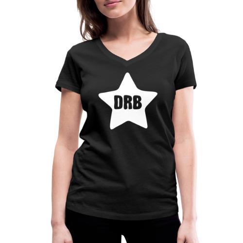 Dark Ride Star - Stanley & Stellan naisten v-aukkoinen luomu-T-paita
