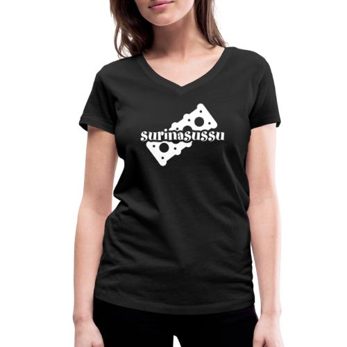 Surinasussu - Stanley & Stellan naisten v-aukkoinen luomu-T-paita