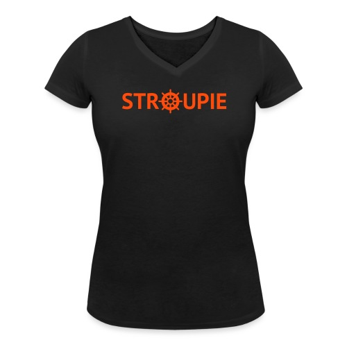 stroupie - Frauen Bio-T-Shirt mit V-Ausschnitt von Stanley & Stella