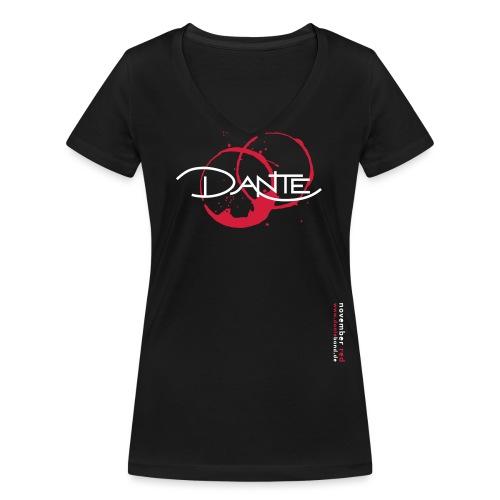 logo kreise 2farben version3 - Frauen Bio-T-Shirt mit V-Ausschnitt von Stanley & Stella