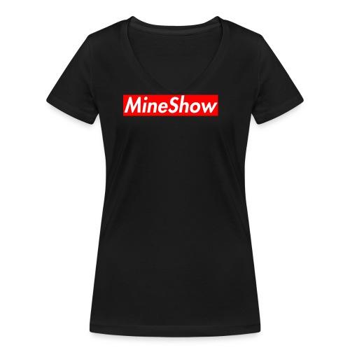 MineShow Box-Logo - Frauen Bio-T-Shirt mit V-Ausschnitt von Stanley & Stella