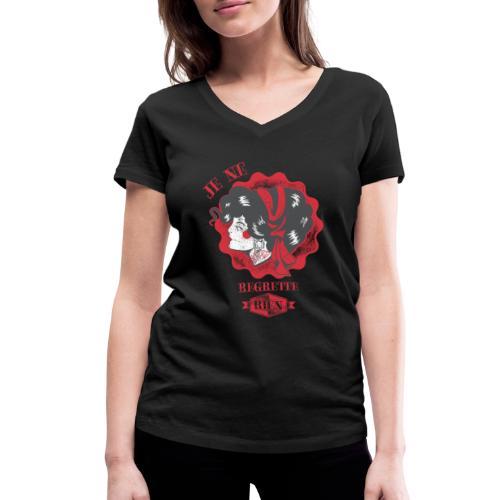 Je ne regrette rien - Frauen Bio-T-Shirt mit V-Ausschnitt von Stanley & Stella