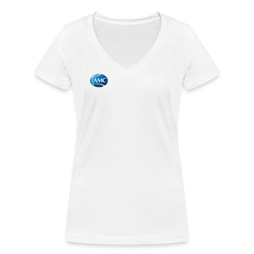 AMC Brand single - Frauen Bio-T-Shirt mit V-Ausschnitt von Stanley & Stella