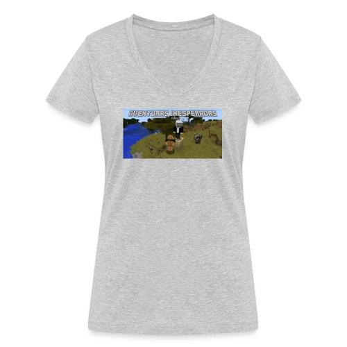 minecraft - Women's Organic V-Neck T-Shirt by Stanley & Stella