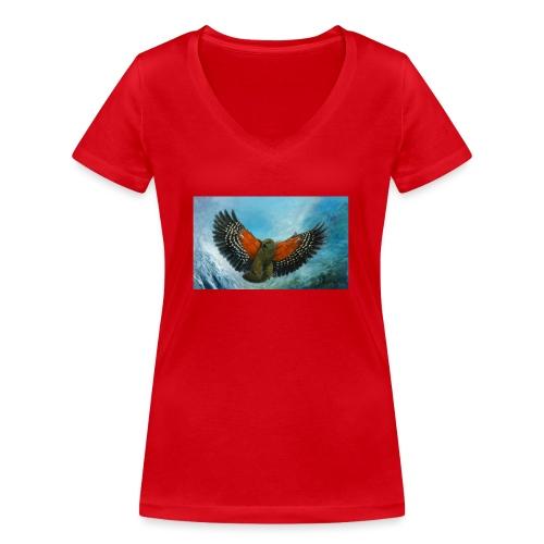 123supersurge - Women's Organic V-Neck T-Shirt by Stanley & Stella