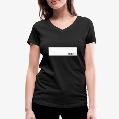 LOLUTE - Ekologisk T-shirt med V-ringning dam från Stanley & Stella