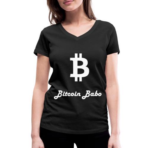 Bitcoin Babo - Frauen Bio-T-Shirt mit V-Ausschnitt von Stanley & Stella