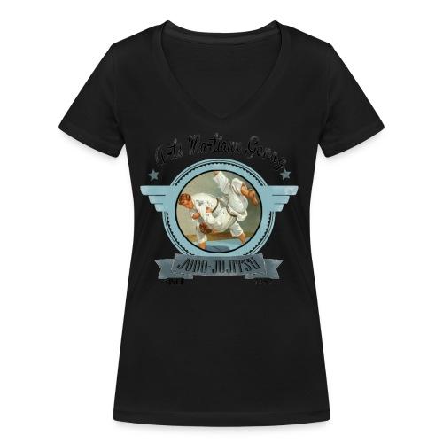 LOGO RETRO - T-shirt bio col V Stanley & Stella Femme