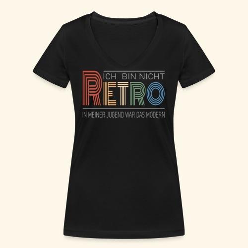 Ich bin nicht Retro Geschenk Geburtstag vintage - Frauen Bio-T-Shirt mit V-Ausschnitt von Stanley & Stella