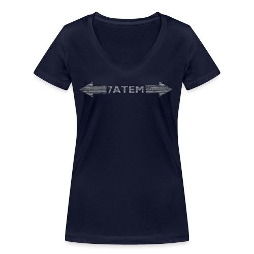 7ATEM - Økologisk Stanley & Stella T-shirt med V-udskæring til damer