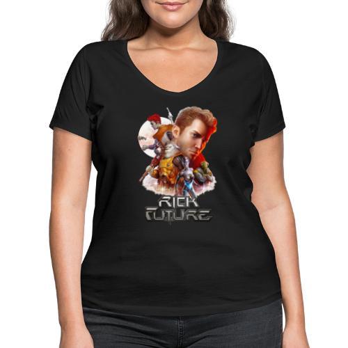RF Anniversary - Frauen Bio-T-Shirt mit V-Ausschnitt von Stanley & Stella