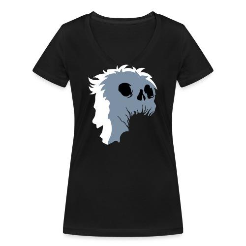 Maschera Mask Skull - T-shirt ecologica da donna con scollo a V di Stanley & Stella