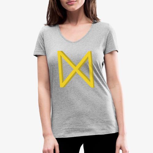 Rune Dagaz? Verdrehung von Extinction Rebellion? - Frauen Bio-T-Shirt mit V-Ausschnitt von Stanley & Stella