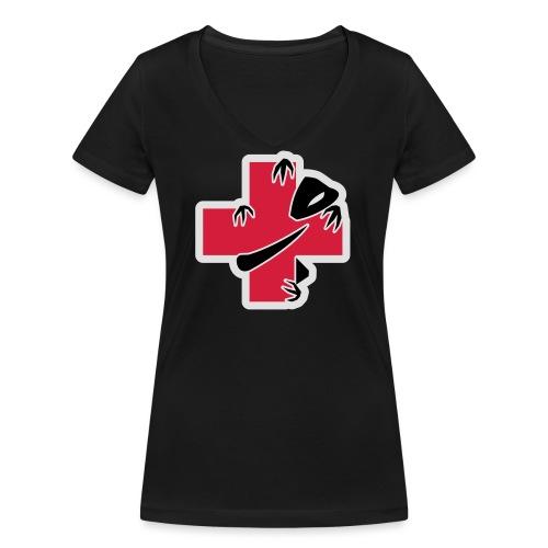 sic-santyx-infirmyx-citud - T-shirt bio col V Stanley & Stella Femme
