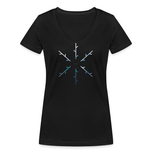 SNOW - T-shirt ecologica da donna con scollo a V di Stanley & Stella