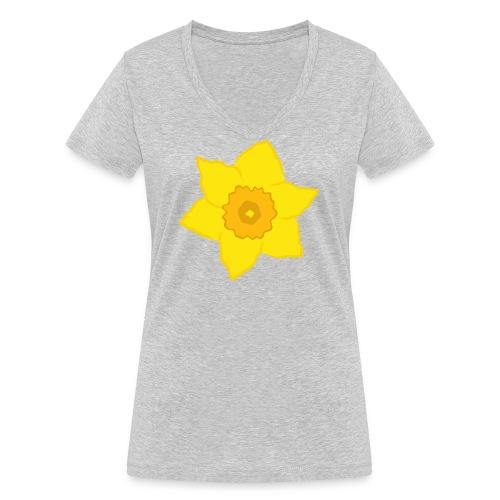 Osterglocke - Frauen Bio-T-Shirt mit V-Ausschnitt von Stanley & Stella