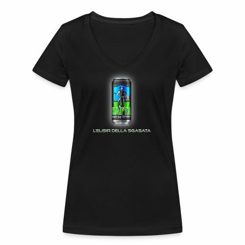 Nafta Energy Drink - T-shirt ecologica da donna con scollo a V di Stanley & Stella