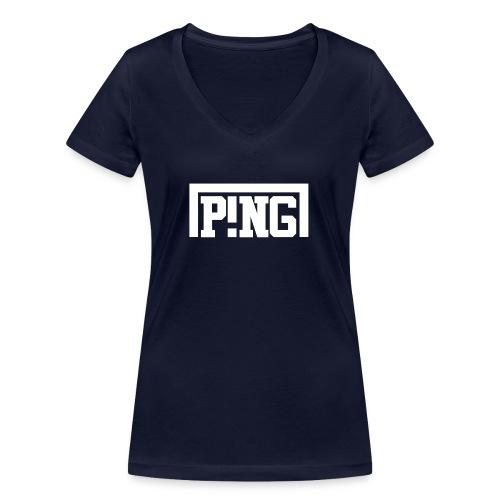 ping2 - Vrouwen bio T-shirt met V-hals van Stanley & Stella