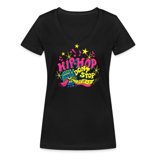 hiphop_style - Frauen Bio-T-Shirt mit V-Ausschnitt von Stanley & Stella