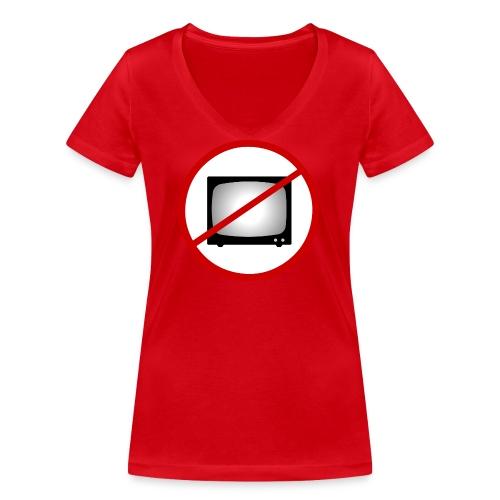notv - Women's Organic V-Neck T-Shirt by Stanley & Stella