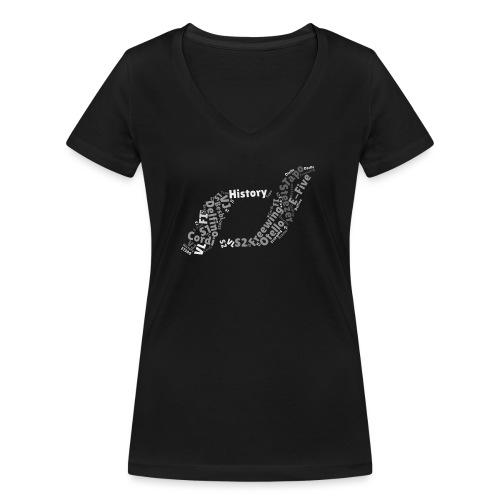 snm-daelim-models-d-g - Frauen Bio-T-Shirt mit V-Ausschnitt von Stanley & Stella