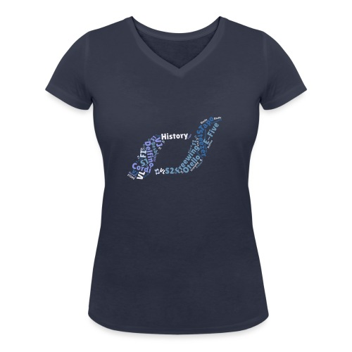 snm-daelim-models-d - Frauen Bio-T-Shirt mit V-Ausschnitt von Stanley & Stella
