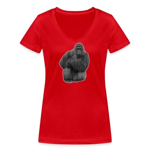 harambe 2k png - Økologisk Stanley & Stella T-shirt med V-udskæring til damer
