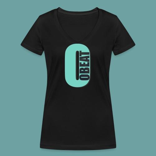OBeat Logo O - Vrouwen bio T-shirt met V-hals van Stanley & Stella