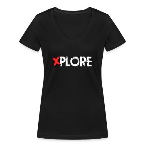Xplore - Lost Places Exploring - Frauen Bio-T-Shirt mit V-Ausschnitt von Stanley & Stella