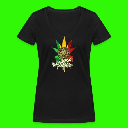 benoufAKAlion - T-shirt bio col V Stanley & Stella Femme