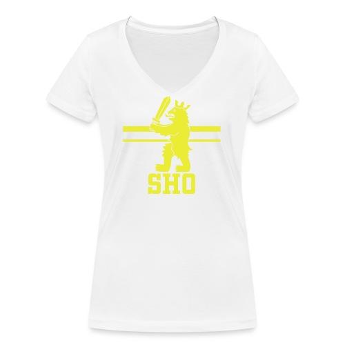 SHO Satakunta - Stanley & Stellan naisten v-aukkoinen luomu-T-paita