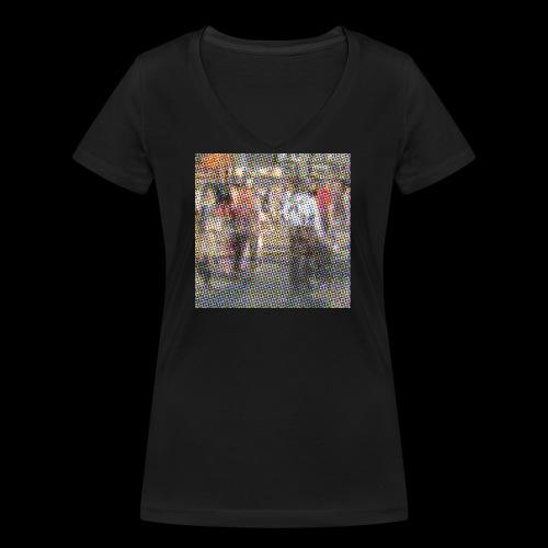 NewYork_GroundZero.jpg - Frauen Bio-T-Shirt mit V-Ausschnitt von Stanley & Stella