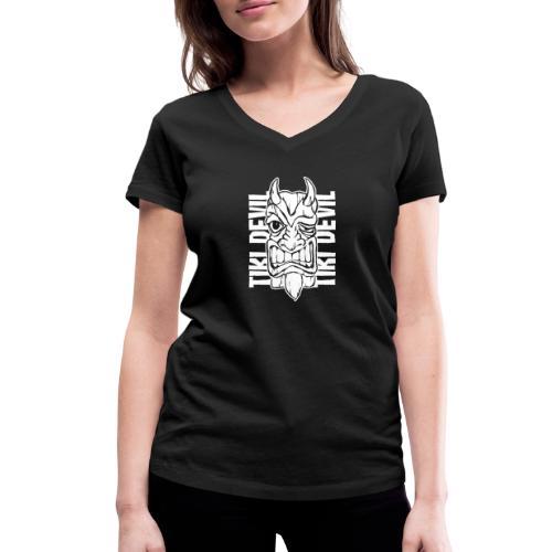 tiki devil - Frauen Bio-T-Shirt mit V-Ausschnitt von Stanley & Stella