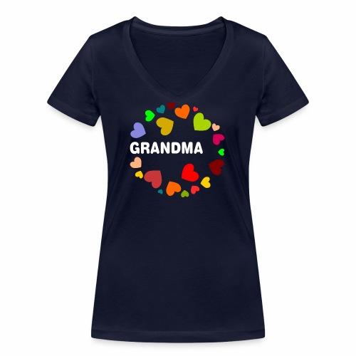 Grandma - Frauen Bio-T-Shirt mit V-Ausschnitt von Stanley & Stella