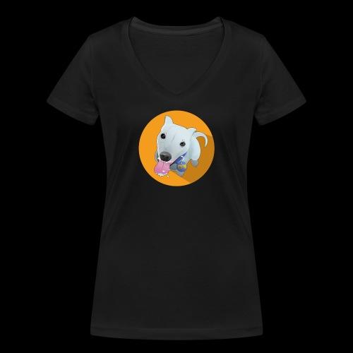 Computer figure 1024 - Women's Organic V-Neck T-Shirt by Stanley & Stella