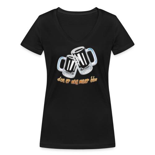 Doe er nog maar een Shirt png - Vrouwen bio T-shirt met V-hals van Stanley & Stella