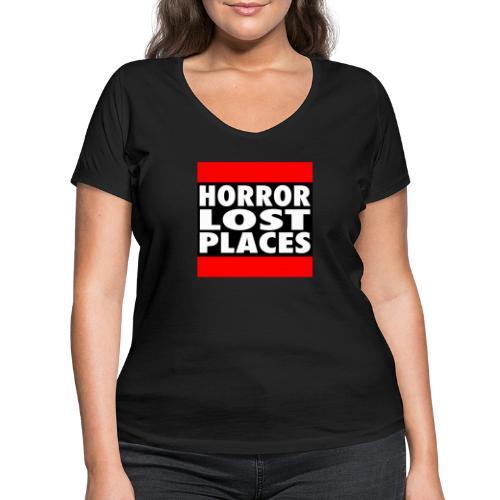 Horror Lost Places - Frauen Bio-T-Shirt mit V-Ausschnitt von Stanley & Stella