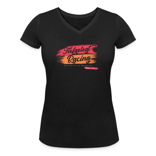 Racing No.1 - Frauen Bio-T-Shirt mit V-Ausschnitt von Stanley & Stella